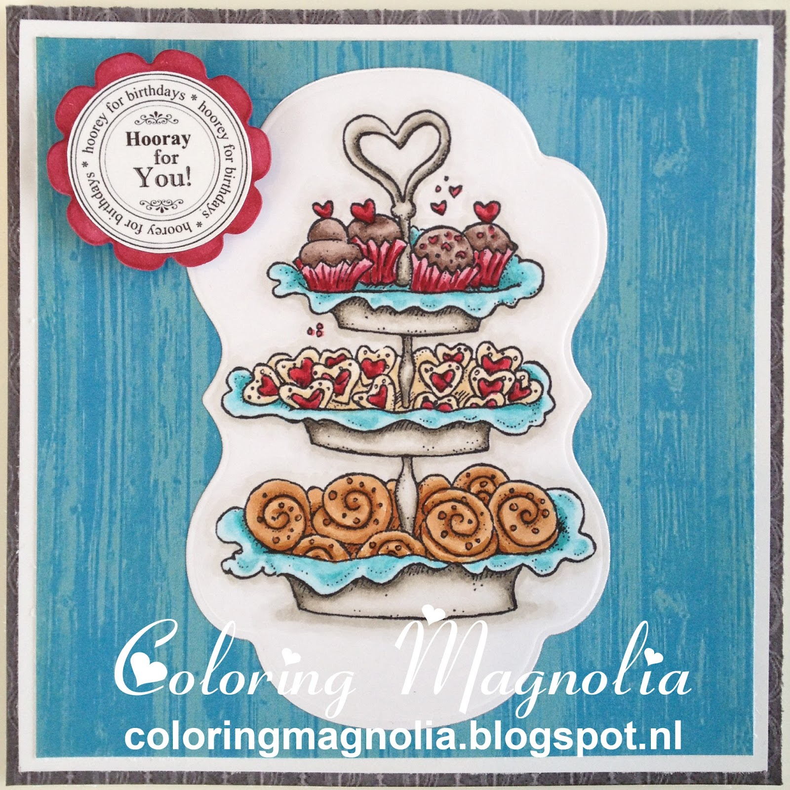 Gift Card Ruben - Magnolia Stamp 2013 With Love Collection - Baked With Love