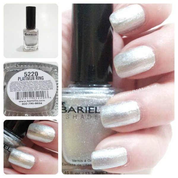 Barielle Platinum Ring Swatch