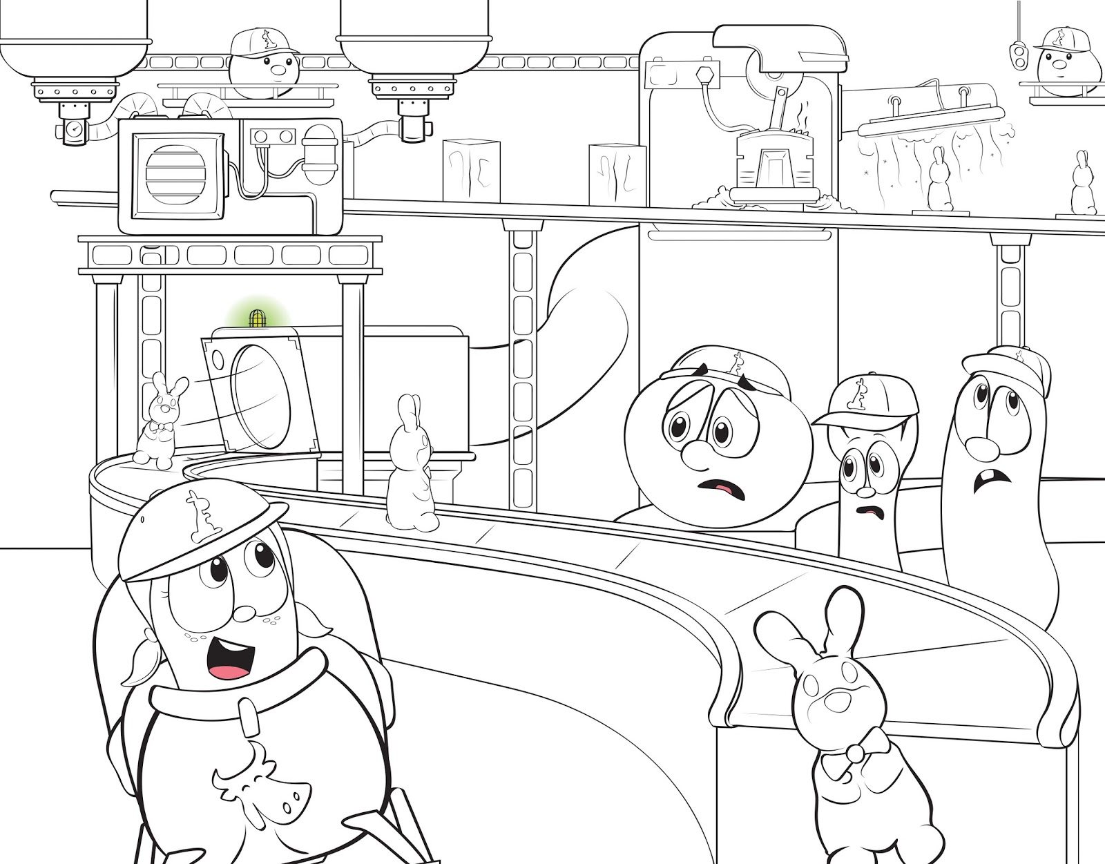 philip a buck coloring veggietales super comics rack shack