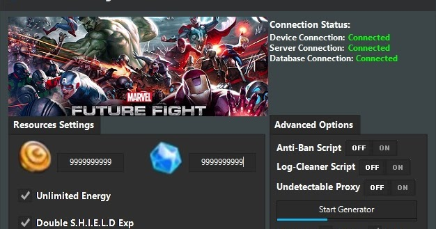 Can you hack Marvel Future Fight Cheat No Verification 2018