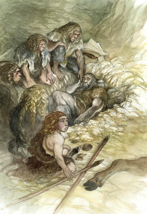 Neanderthal La Chapelle Aux Saints TINKYFURAX: Fête ...