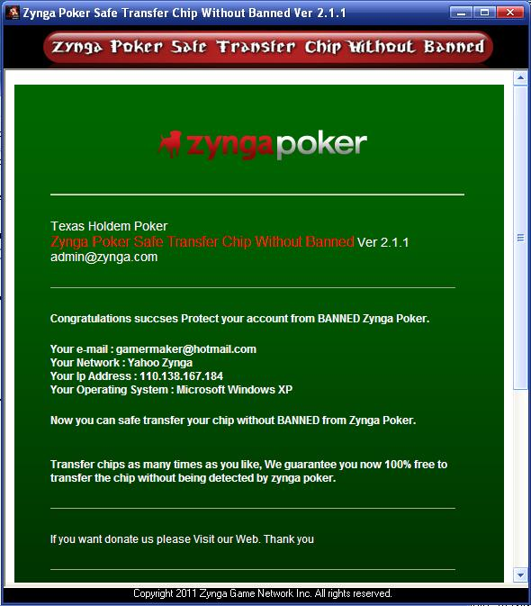 Zynga poker chips cheat engine