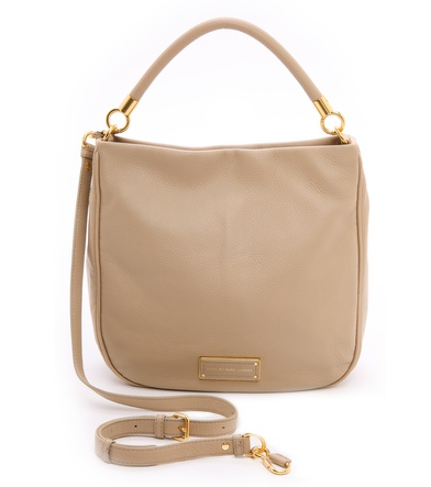 Marc by Marc Jacobs Too Hot to Handle Hobo-Tracker Tan