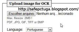 Converter Imagem em Texto - OCR