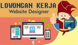 Lowongan Kerja Website Designer Makassar Terkini