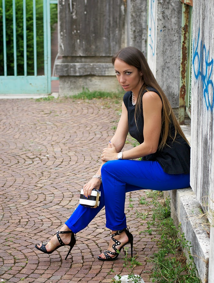 outfit party luisa via roma