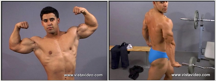 Picture About Male Fitness Model  Derek