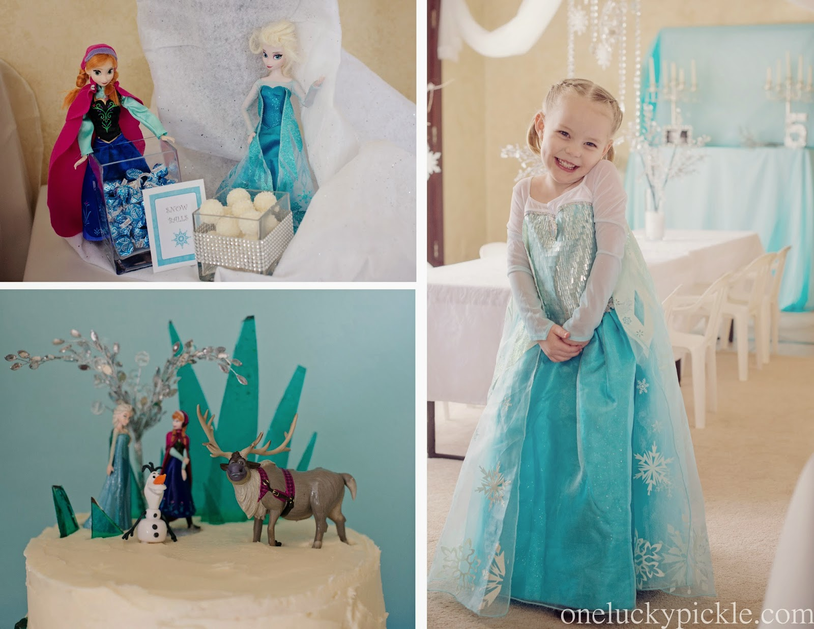 One Lucky Pickle: ~FROZEN BIRTHDAY PARTY~