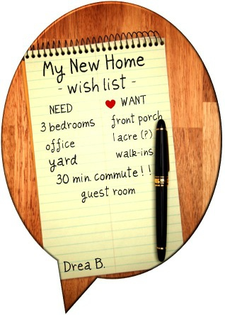Carpe diem chicago real estate blog what is your wish for Home wish list