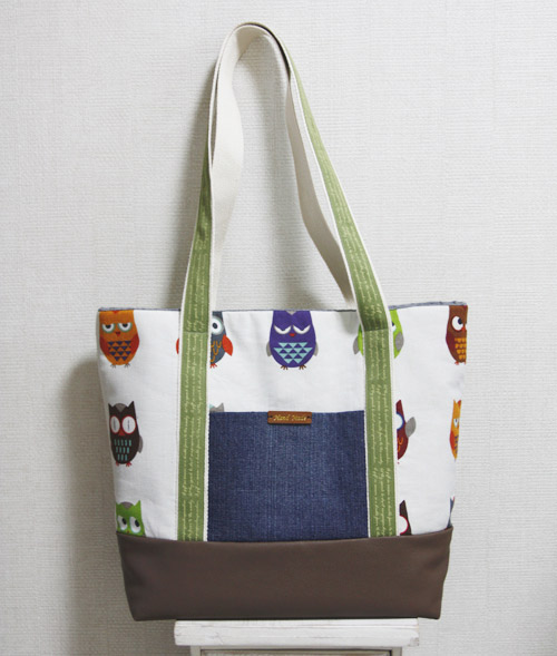 Easy Canvas Tote Bag With Pocket Step By Diy Tutorial