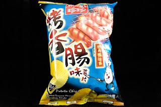 珍珍 - V Cut 薯片 - 烤香腸味旺角風味篇