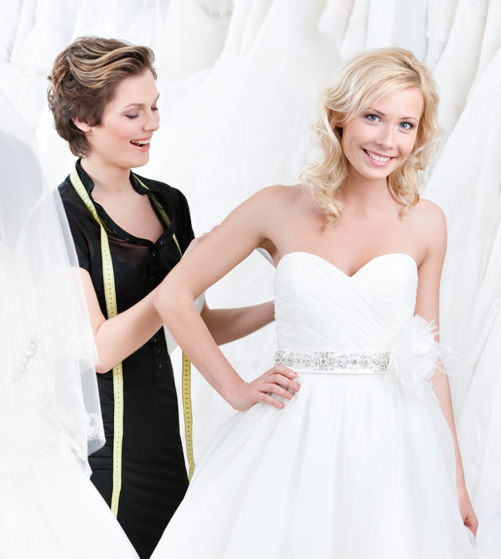 wedding dress seamstress