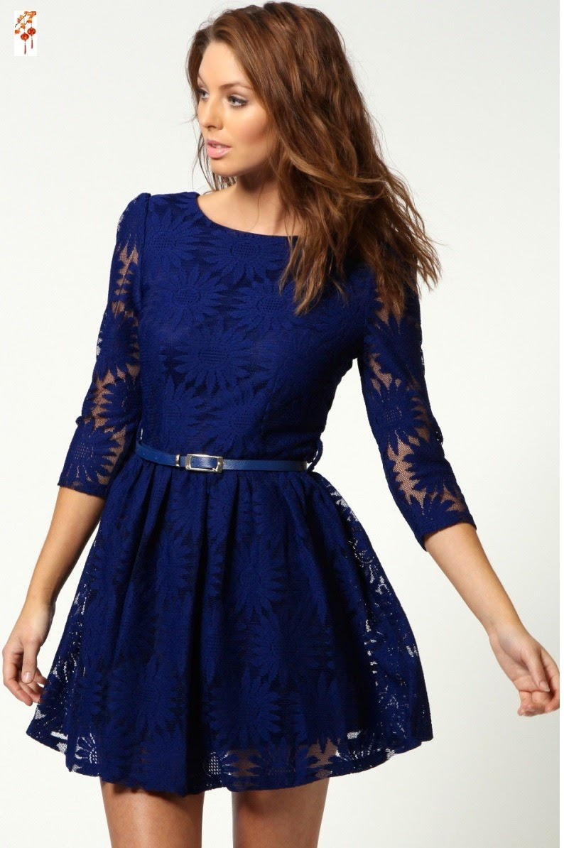 Diferentes modelos de vestidos