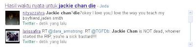 jackie chan die
