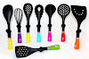 OX-043 Oxone Rainbow 8pcs Kitchen Tools