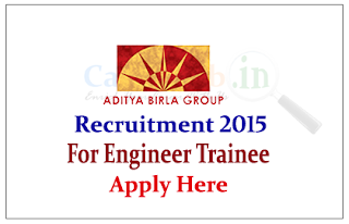Aditya Birla Group Recruitment 2015 for the post of Graduate Engineer Trainee