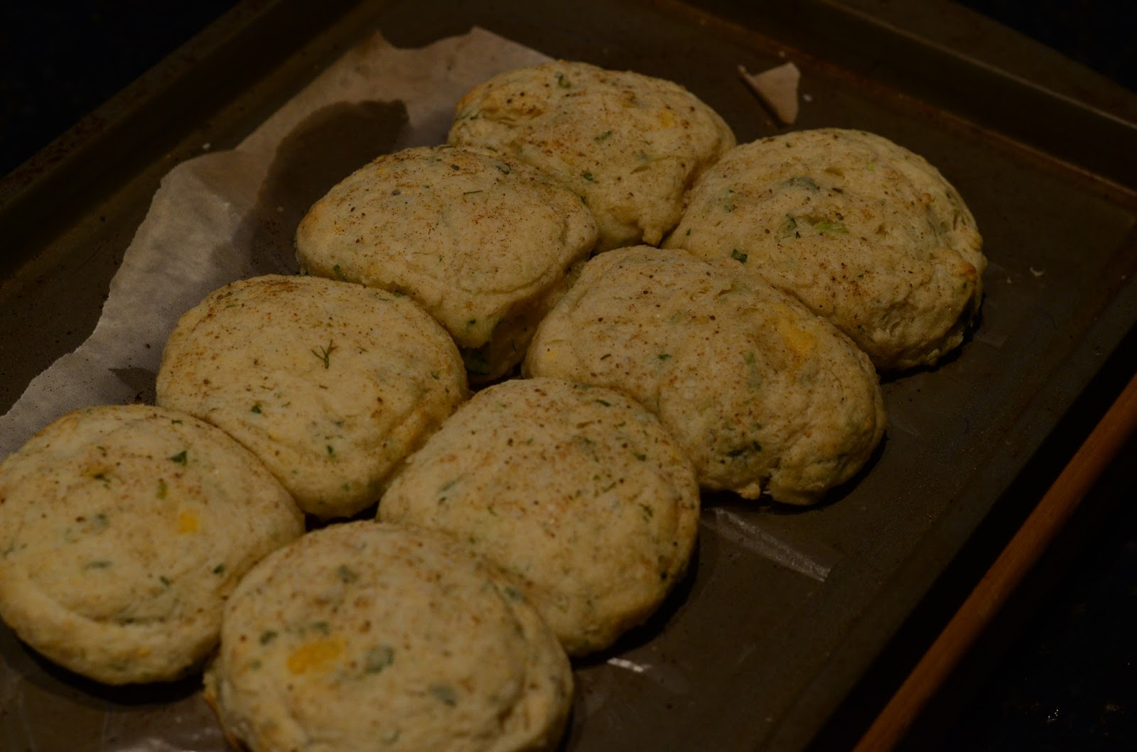 Food for Flicks: Buttermilk Cheddar Biscuits