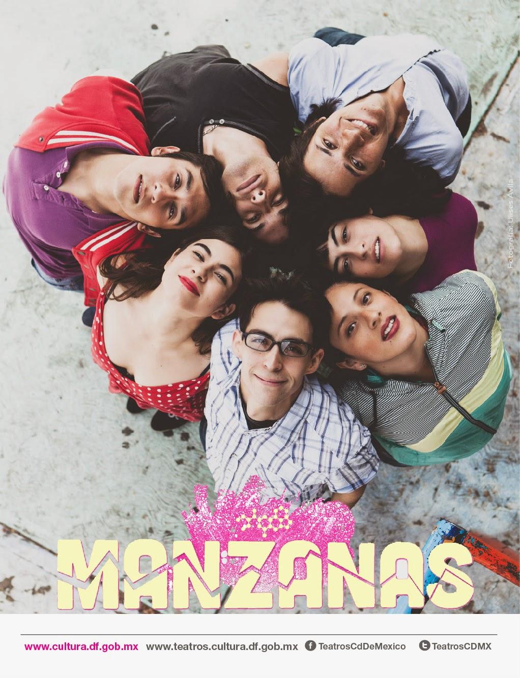 """Corta temporada de """"Manzanas"""" en el Teatro Benito Juárez"""