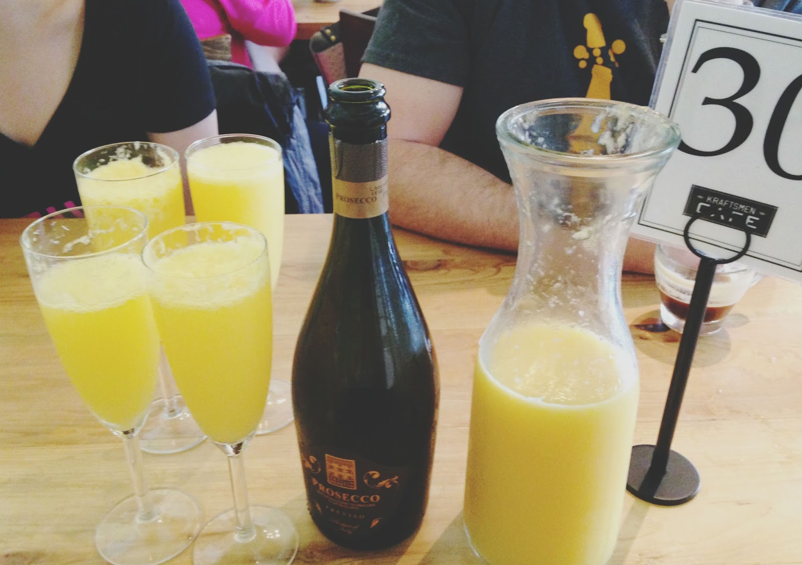 houston kraftsmen brunch byob mimosas