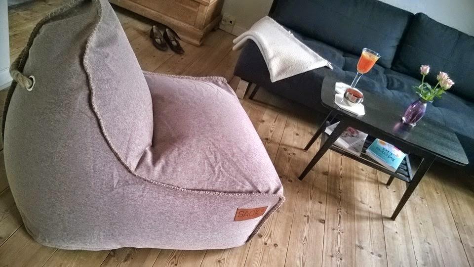 Justlove2ndhandbyleneb.: Ægte vintage med retroit sækkestol fra ...