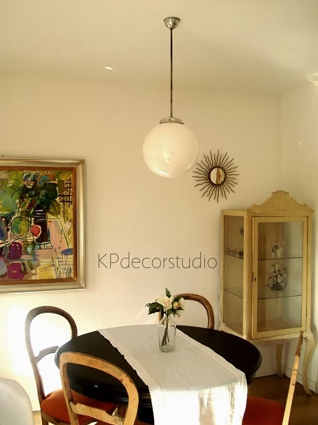 Lámparas de techo vintage online. Lámpara original para salón o comedor