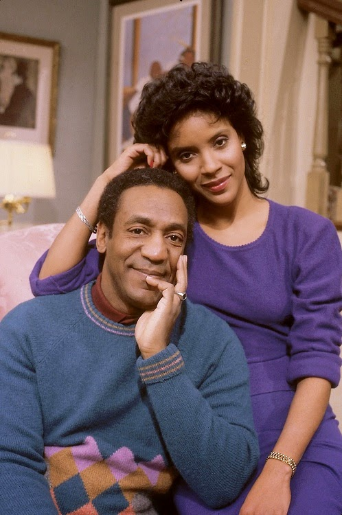 Claire and Cliff Huxtable