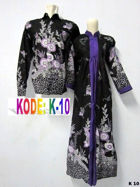 model gaun batik pesta K-10