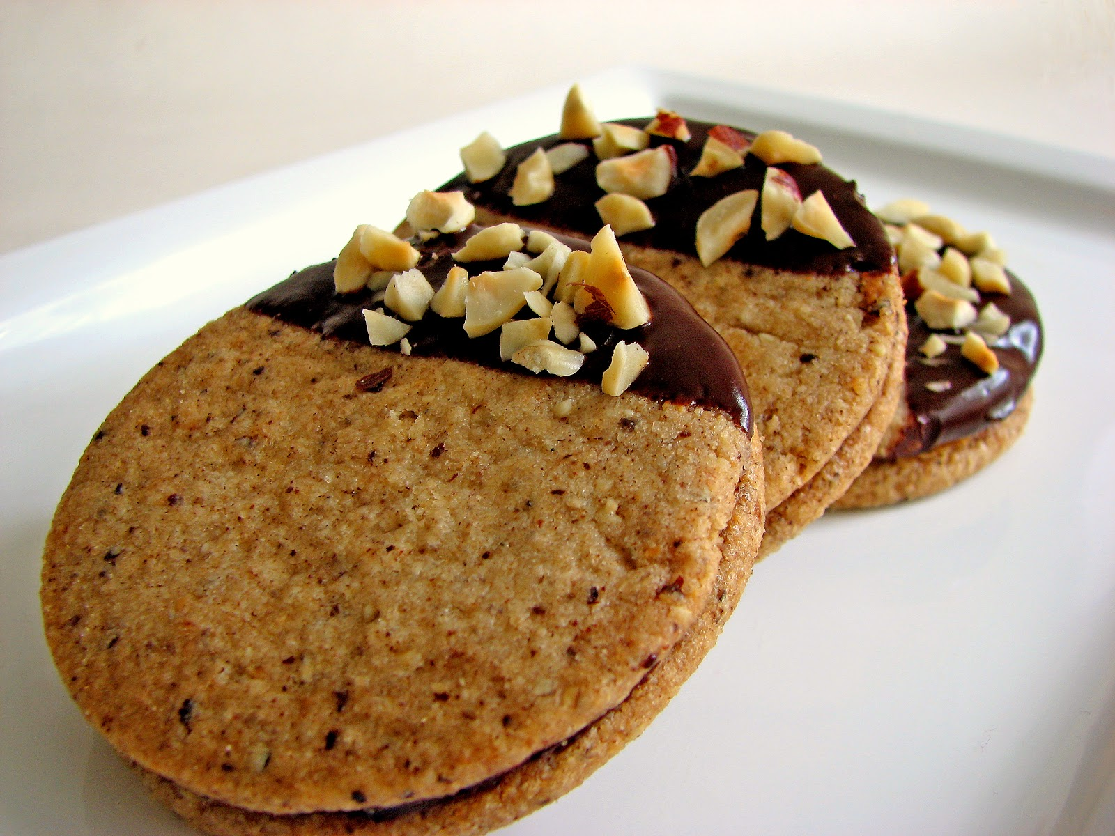 pastry studio: Hazelnut Espresso Chocolate Cookies