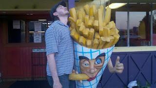 funny guy and mascot blowjob