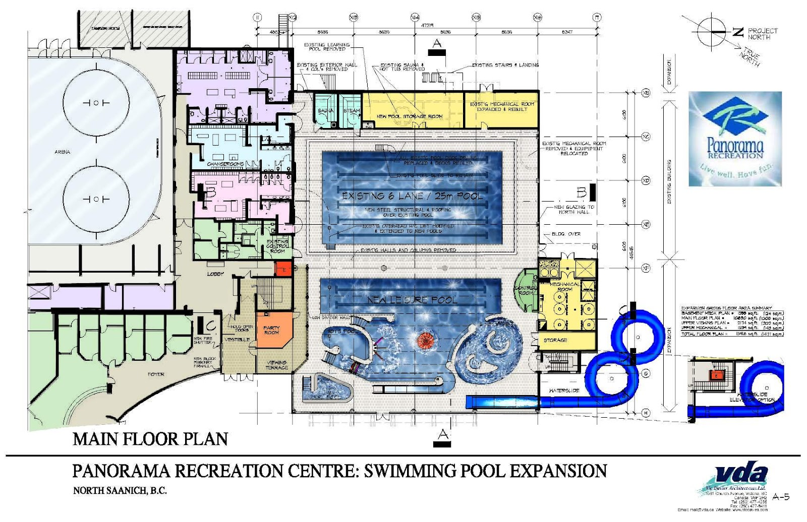 Final major project january 2012 for Swimming pool site plan