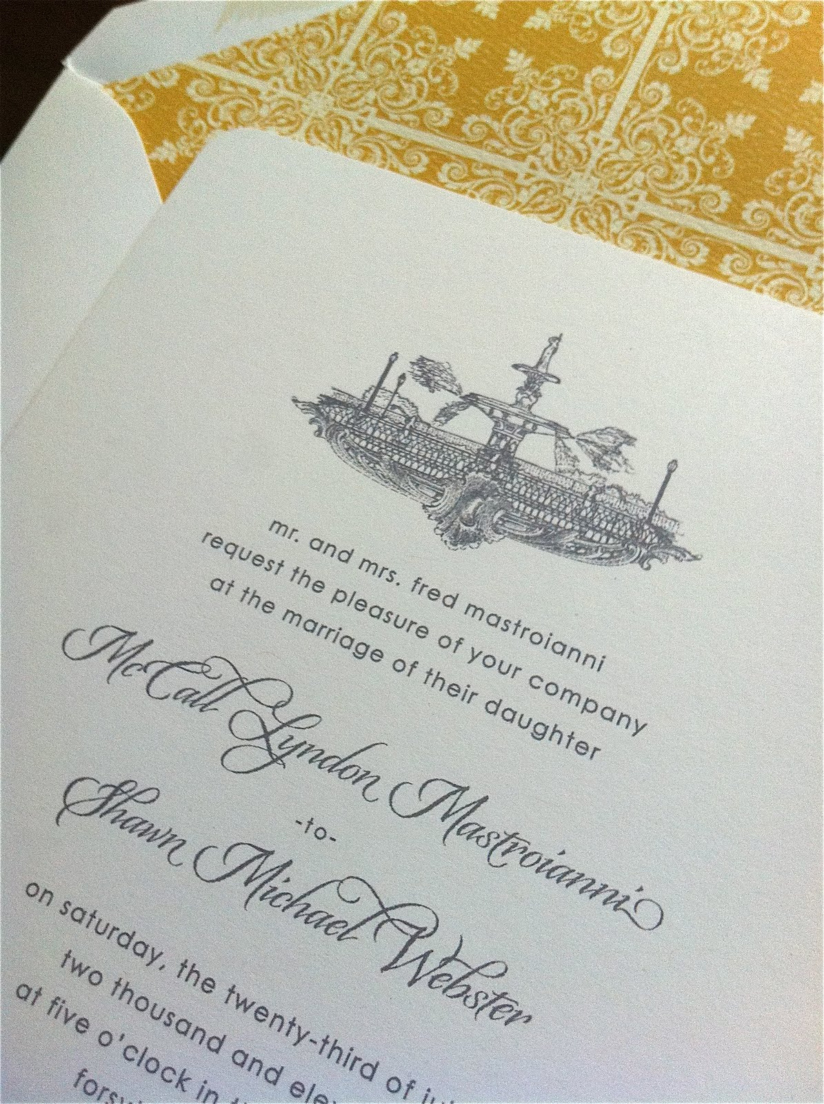 Wedding Invitations Forsyth Fountain { Savannah, GA ...