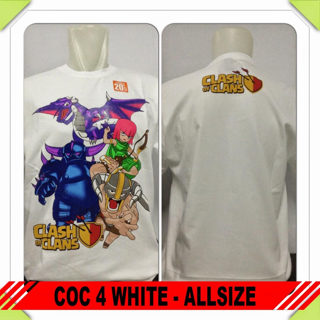 Baju COC 4 White