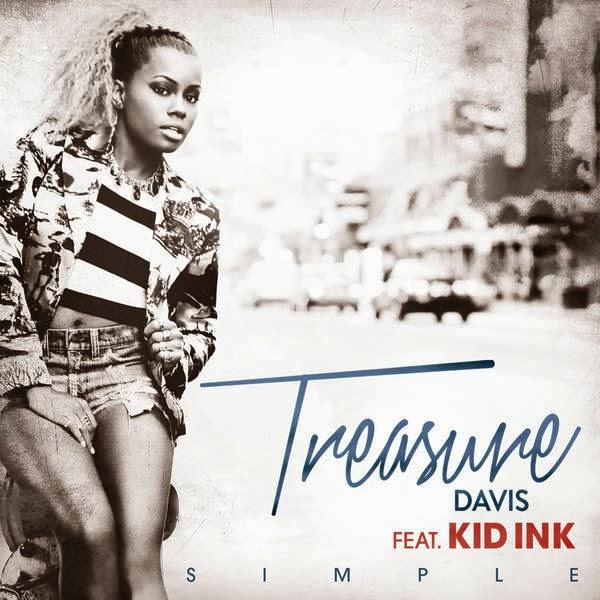 Treasure Davis - Simple (feat. Kid Ink) - Single Cover