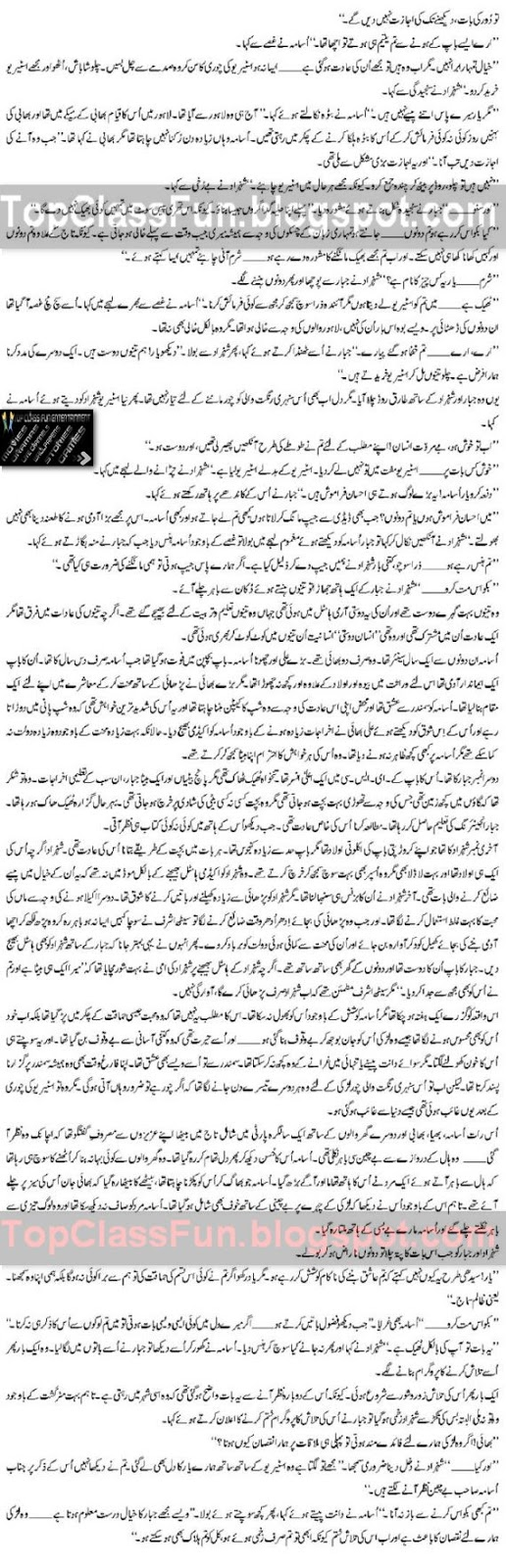 Romantic Urdu Novel - MOHABBAT &#8211; By Shahina Chanda Mehtab Page 3
