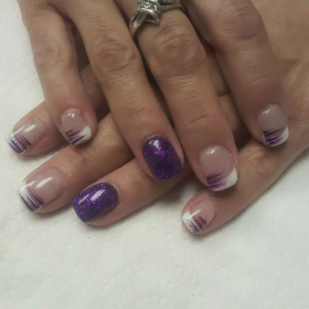 Gel-color LED Polish acrylic tip extension colors Stones to feature