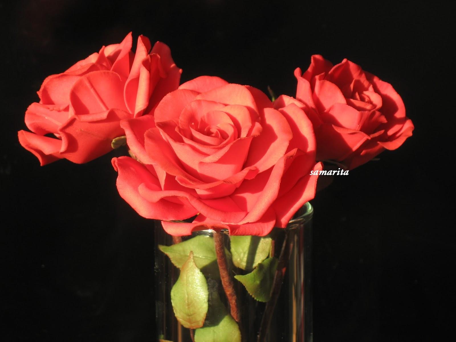 Сахарные розы 3000р
