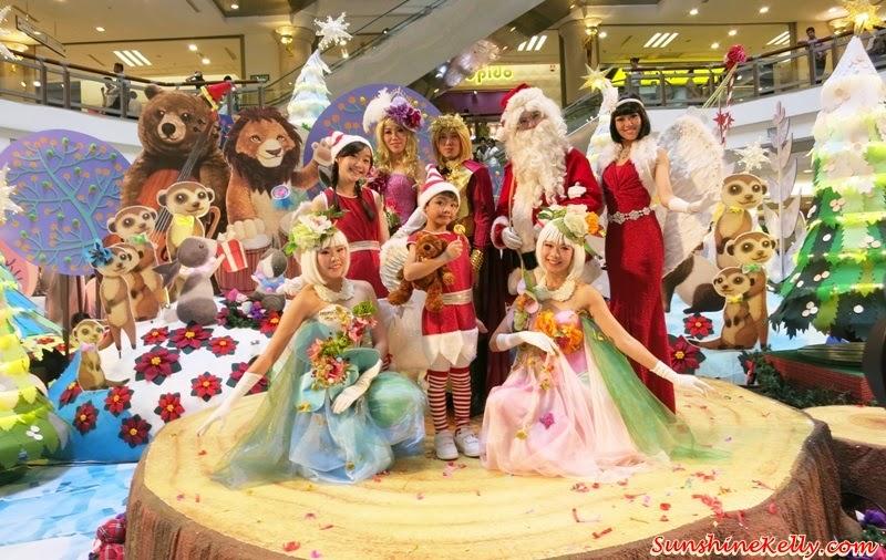 A Rustic Woodland Christmas, Love & Joy, 1 Utama, Christmas 2014, Dancers from Aurora Performing Art Centre