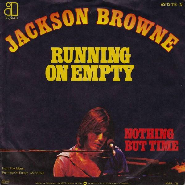 Copertina Jackson Browne - Running On Empty