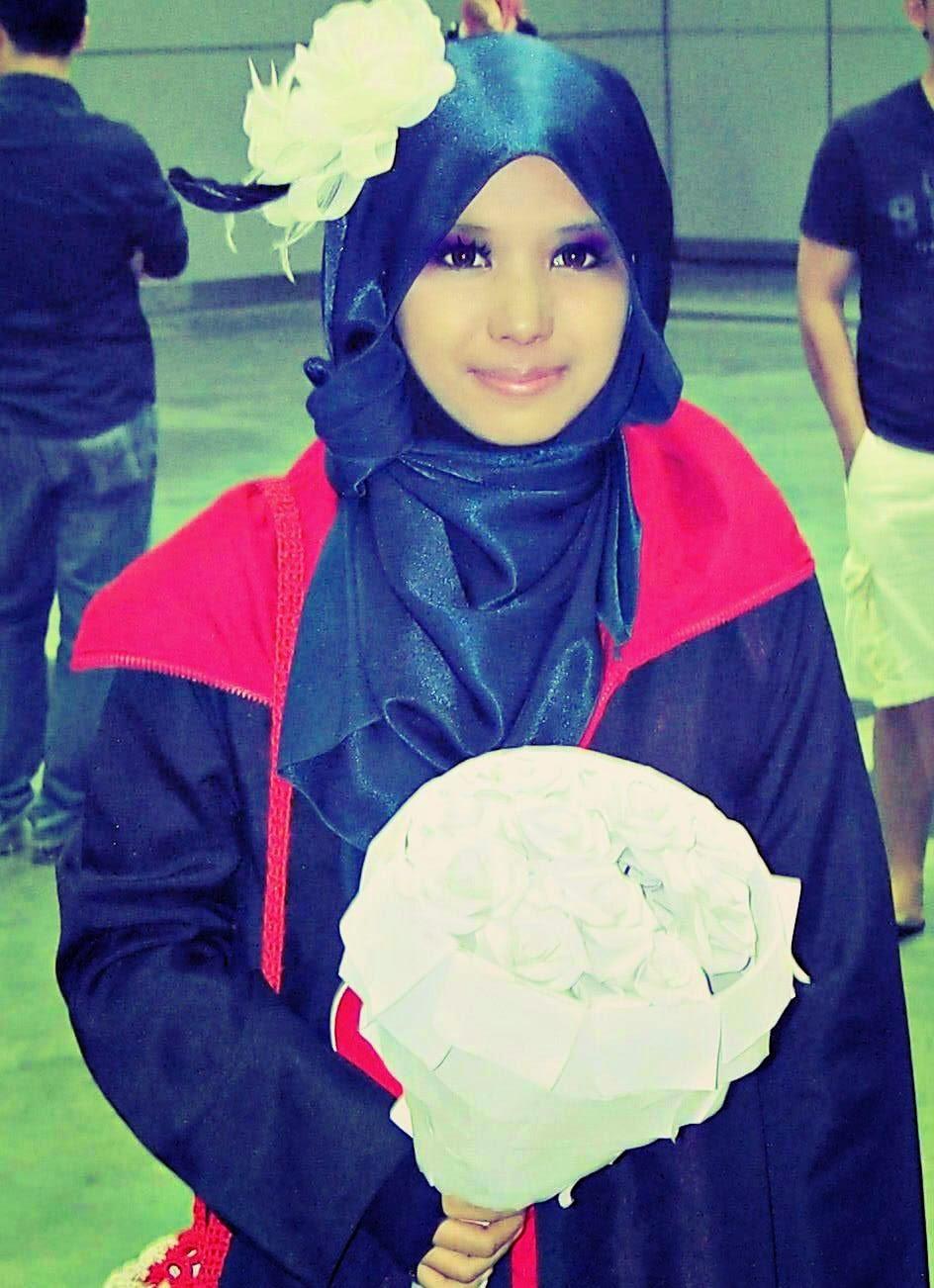 Akatsuki Konan versi Hijab