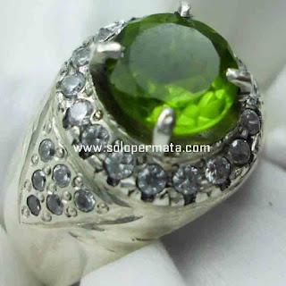 Batu Permata Natural Green Peridot | Batu Permata | Peridot | Garansi Natural