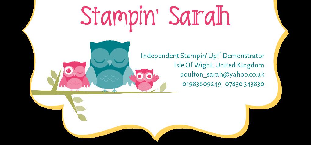 Stampin' Sarah!