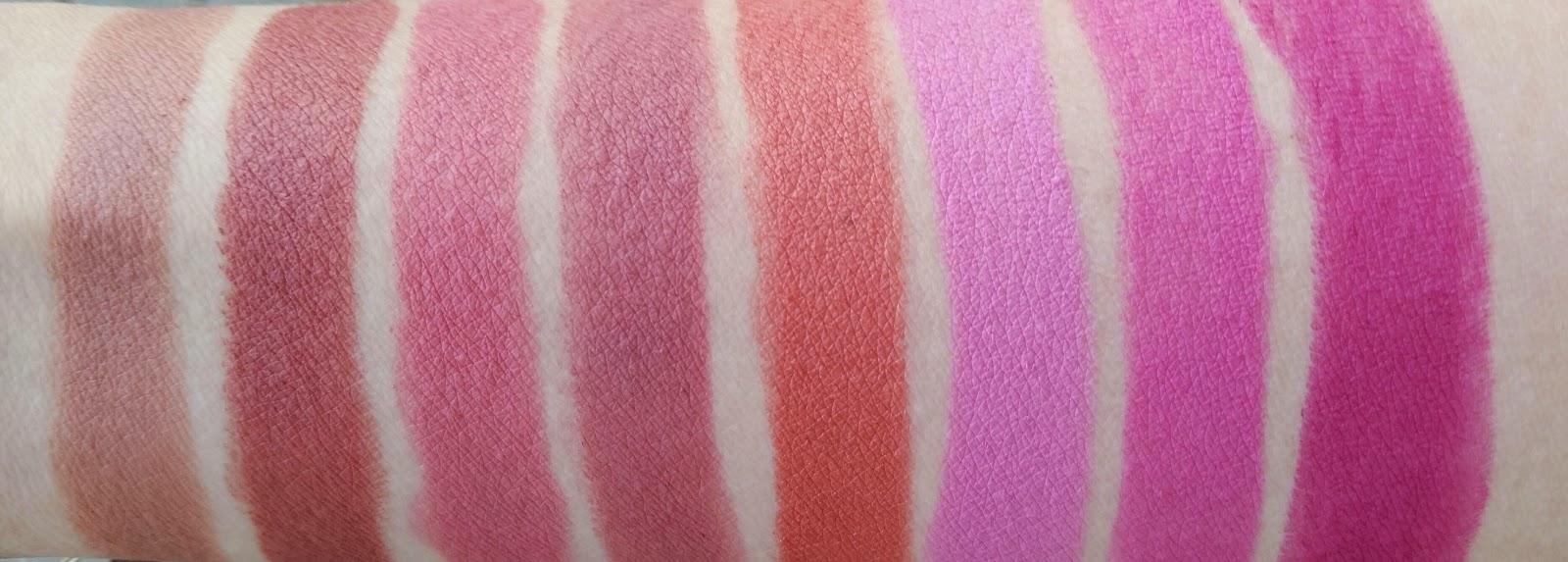 jordana modern matte lipstick swatches