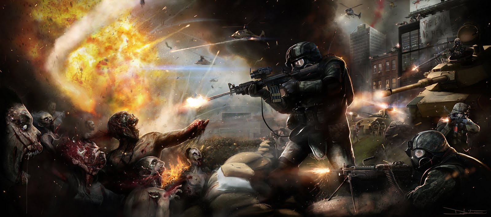 Apocalipsis zombie: la verdad jamas contada... Parte XI.
