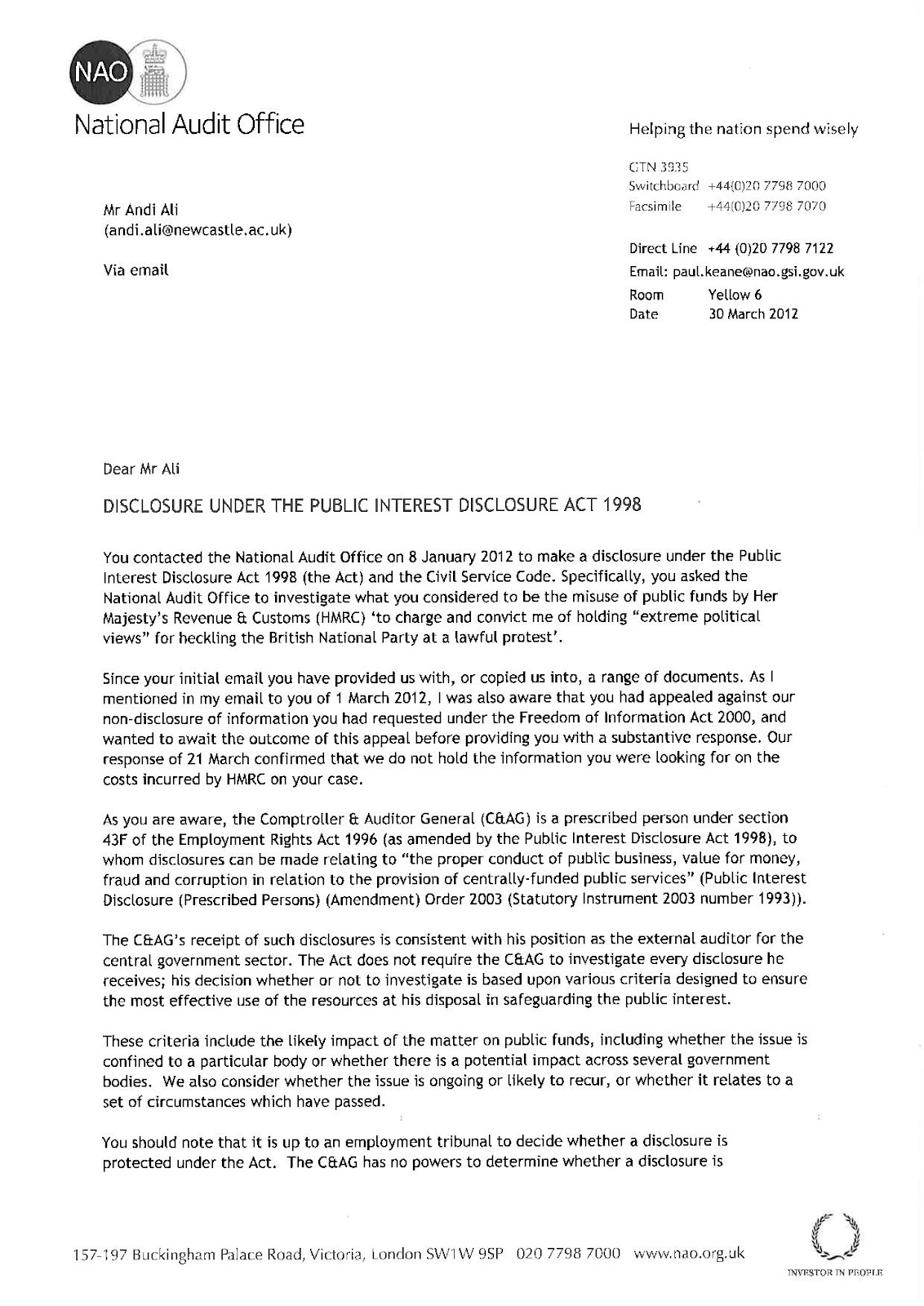 18 awesome letter template hmrc pics complete letter template hmrcleaks blog of a civil service whistleblower in her majestys spiritdancerdesigns Image collections