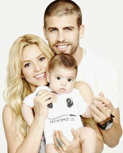 Shakira family photo