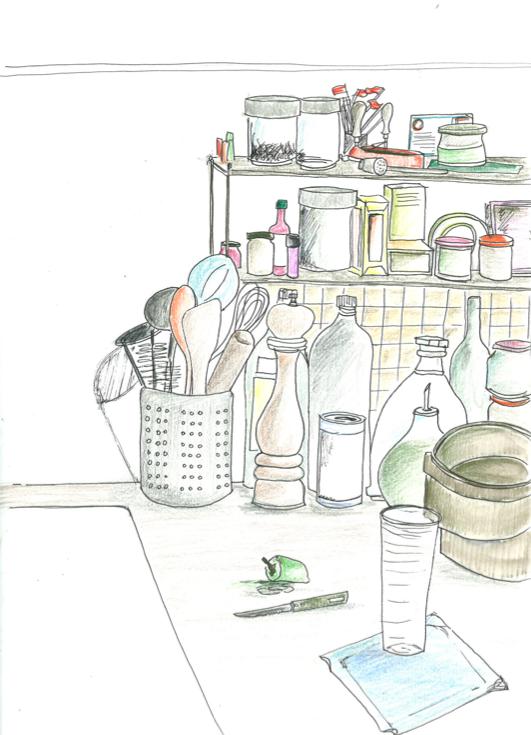 Gna gna dessine moi une cuisine for Dessine une cuisine