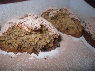Banánové muffiny s čoko chips