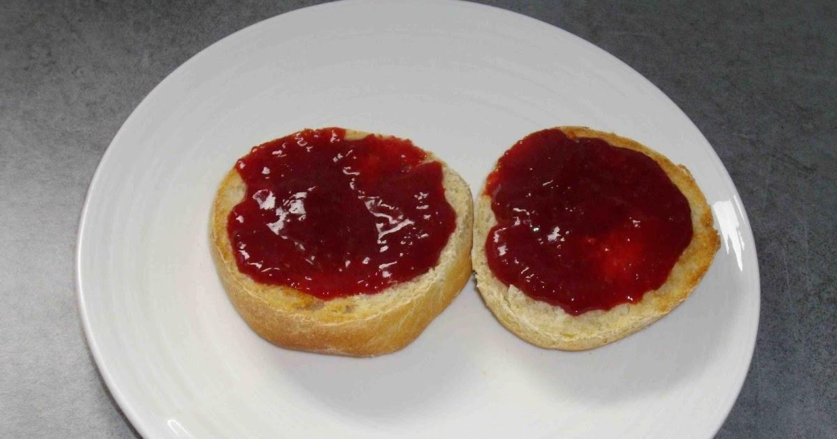 Mal ne aux fourneaux confitures de fraises maison - Confiture de fraise maison ...