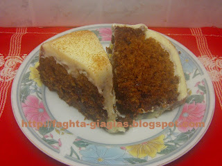Τα φαγητά της γιαγιάς - Κέικ με καρότα και γλάσο τυριού