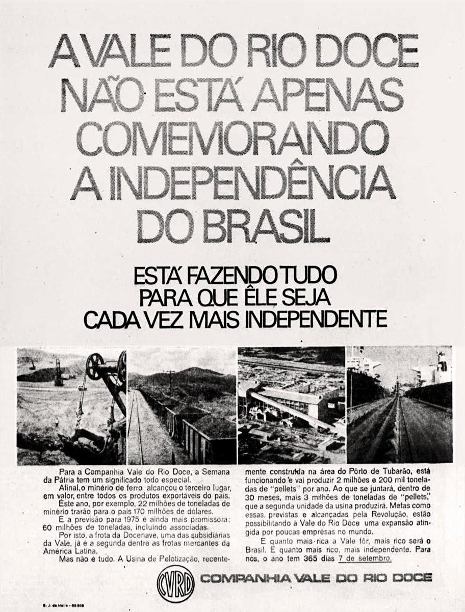 Propaganda nos anos 70; História da década de 70; Brazil in the 70s. Reclame anos 70.
